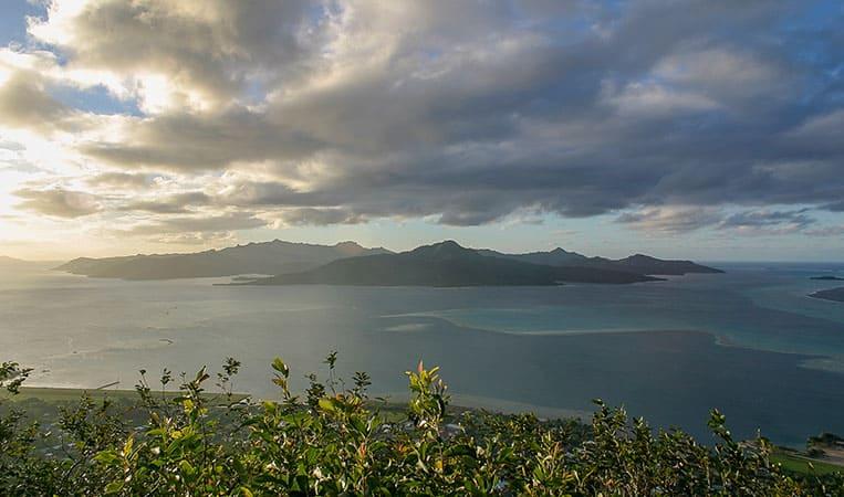 Der Ausblick vom Mount Tapioi