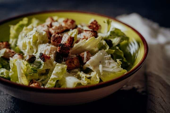 Caesar Salad – Amerikanisches Originalrezept