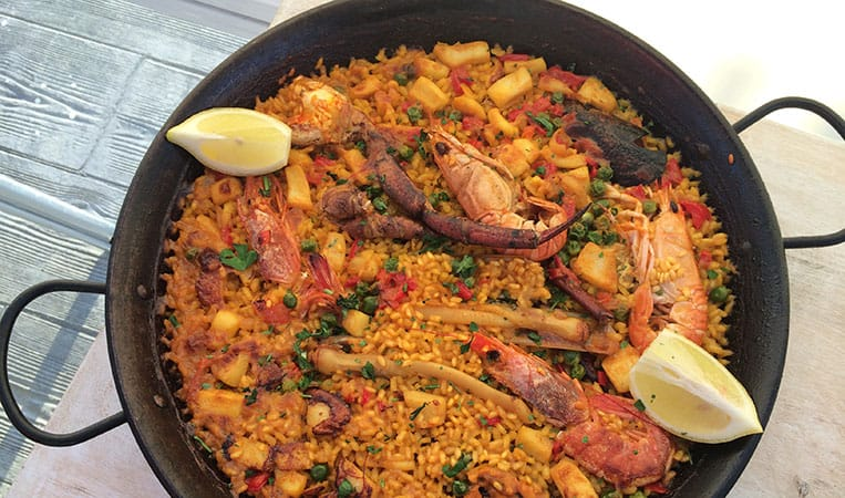 Paella in Ca'n Picafort