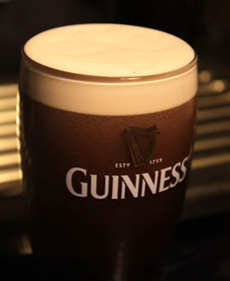 Das perfekte Glas Guinness