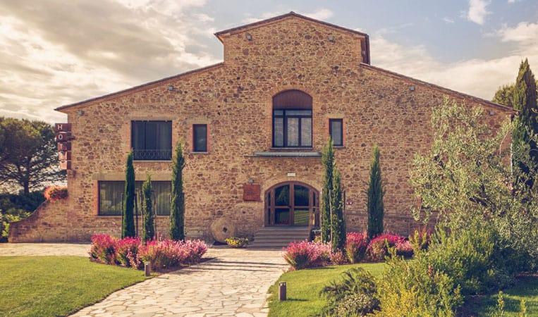 Das Hotel Tabaccaia | Foto: Toscana Resort Castelfalfi