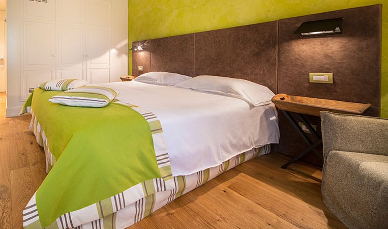 Zimmer Hotel Tabaccaia | Foto: Toscana Resort Castelfalfi