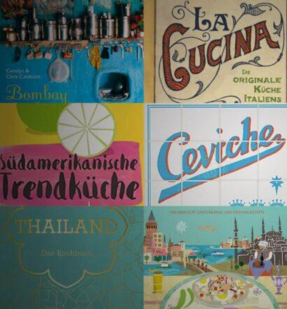 Die 15 besten Kochbücher aus aller Welt