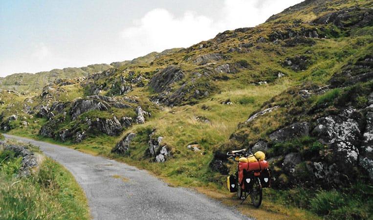 Mit dem Fahrrad auf kleinen Straßen um die Sheepshead Peninsula
