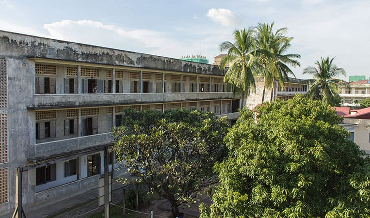 Das Tuol-Sleng-Genozid-Museum