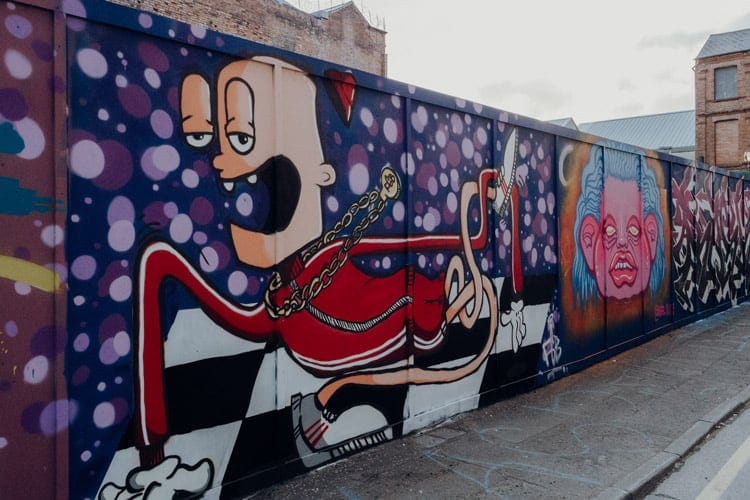 Street Art Walking Tour durch das Cathedral Quarter