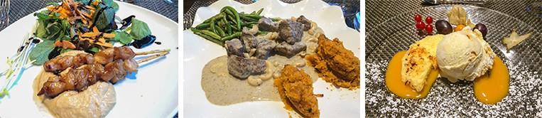 Afrikanisches Menü