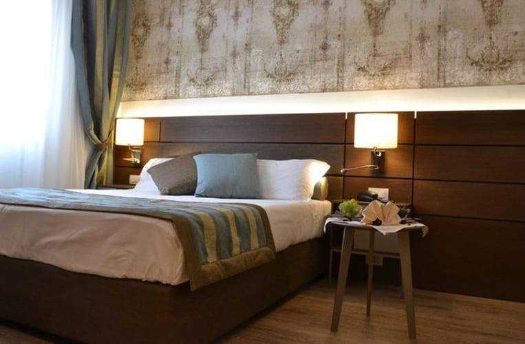 Die Zimmer des Apogia Hotel Sirio Venice