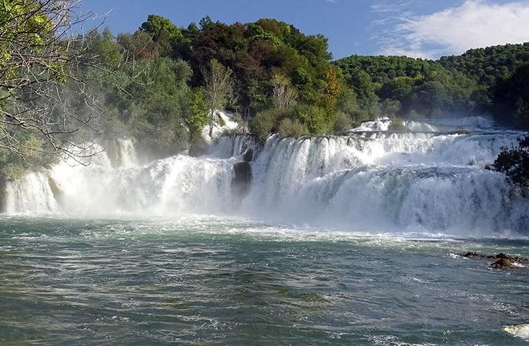 Die Landschaft in Kroatien ist wunderschön