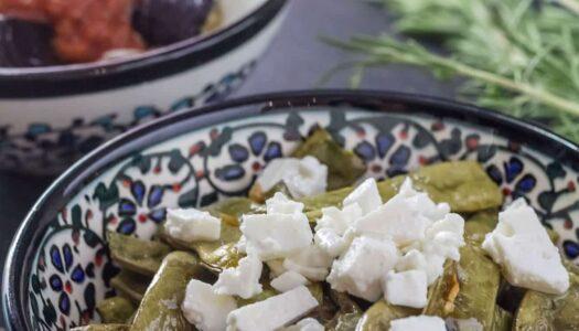 Mezze: Grüne Bohnen aus dem Ofen