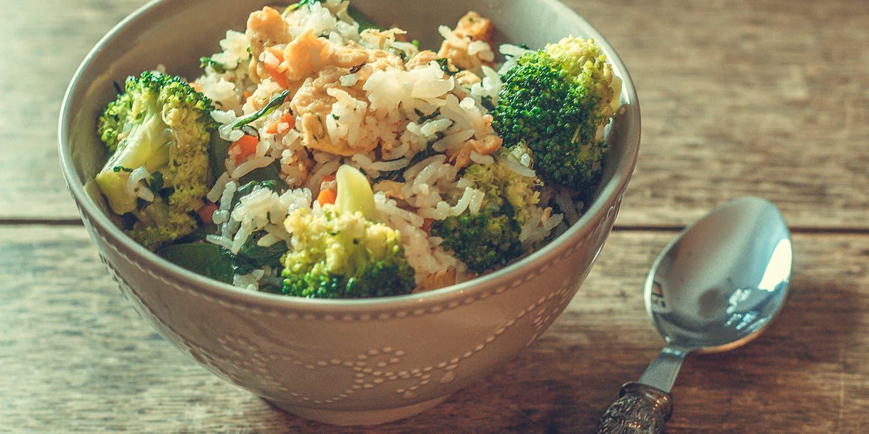 Gebratener Reis mit Gemüse – Khao Pad Pak