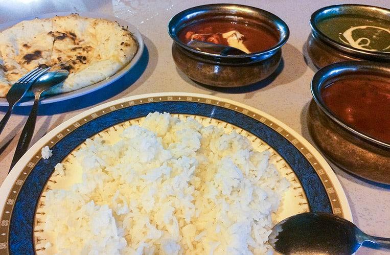Essen im Pak Putra Tandoori & Naan Restaurant