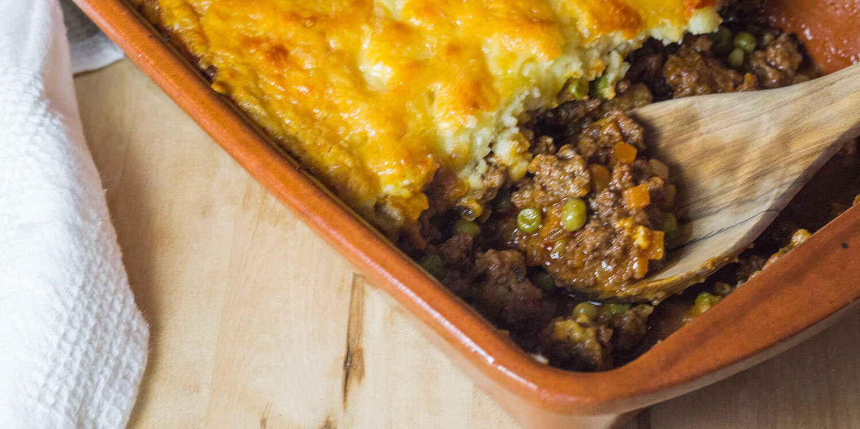 shepherd's pie | hackfleischauflauf mit kartoffelhaube aus irland