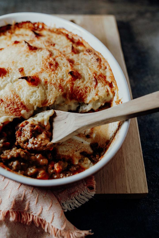 Shepherd's Pie – Hackfleischauflauf mit Kartoffelhaube aus Irland