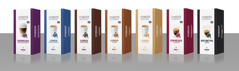 Ristretto, Espresso, Lungo, Macchiato, Flavoured oder koffeinfrei...