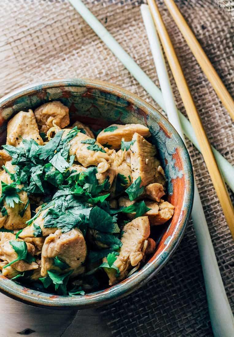 Vietnamesisches Hähnchen mit Zitronengras