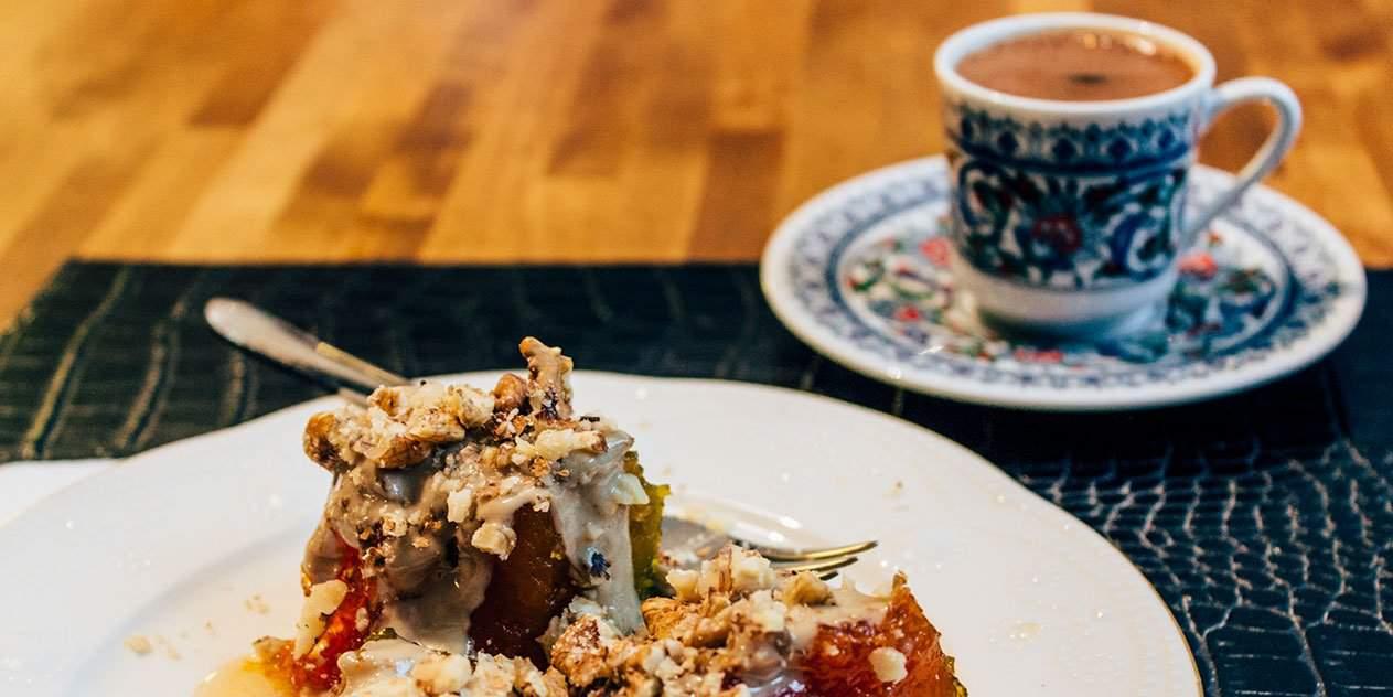 Türkisches Kürbis Dessert