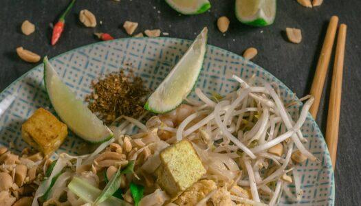 Original thailändisches Pad Thai