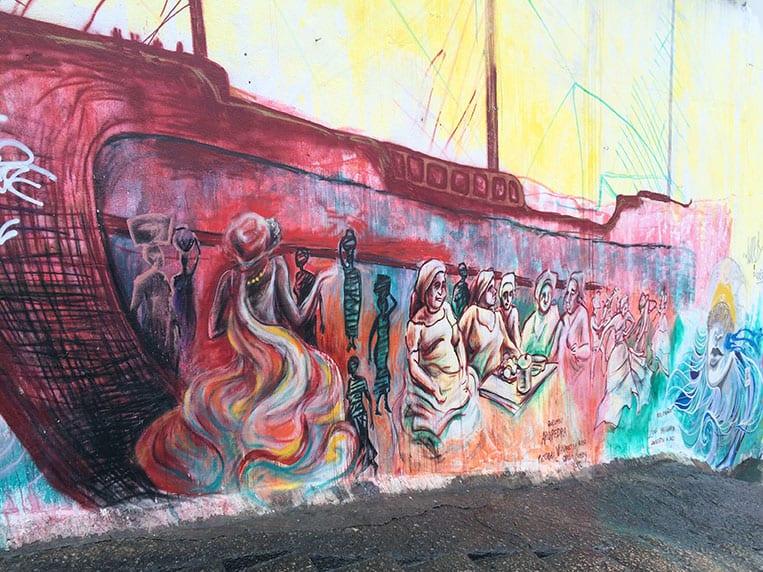 Mural am Pedro do Sal