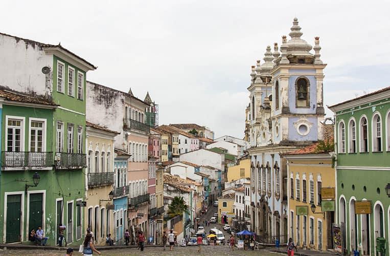 Der Pelourinho, Salvador da Bahia, Brasilien