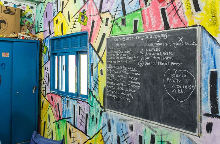 Klassenzimmer in Para Ti