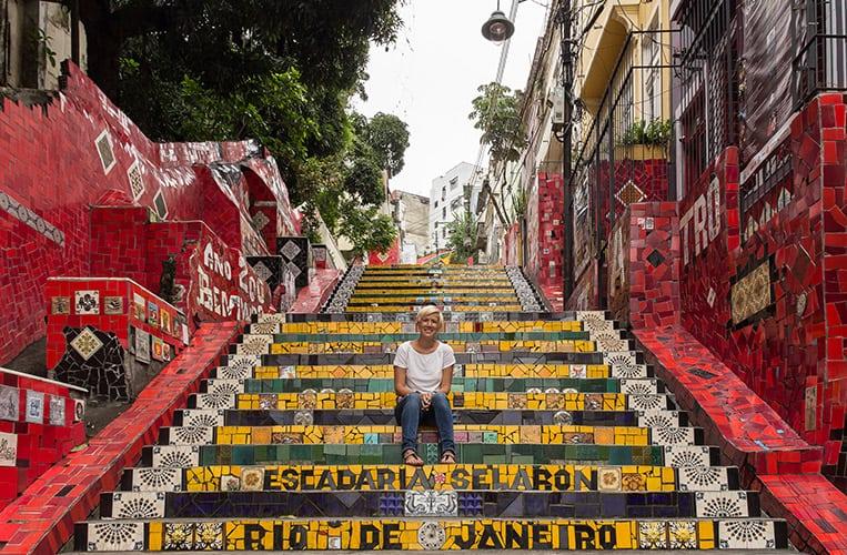 Die Escadaria Selarón