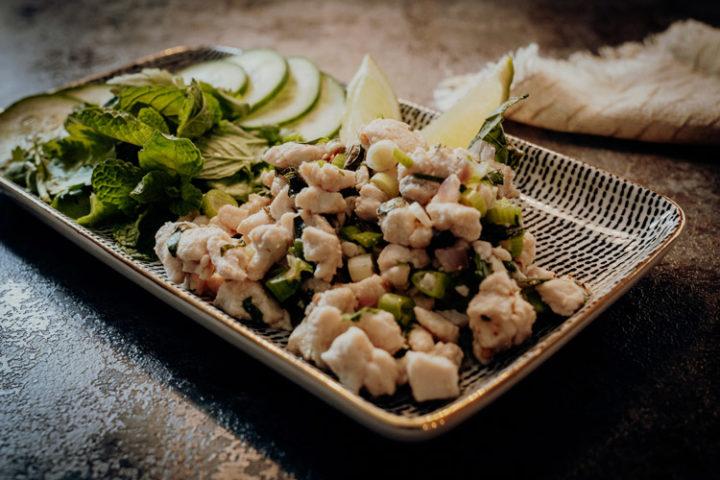 Larb Moo – Thailändischer Schweinehackfleischsalat