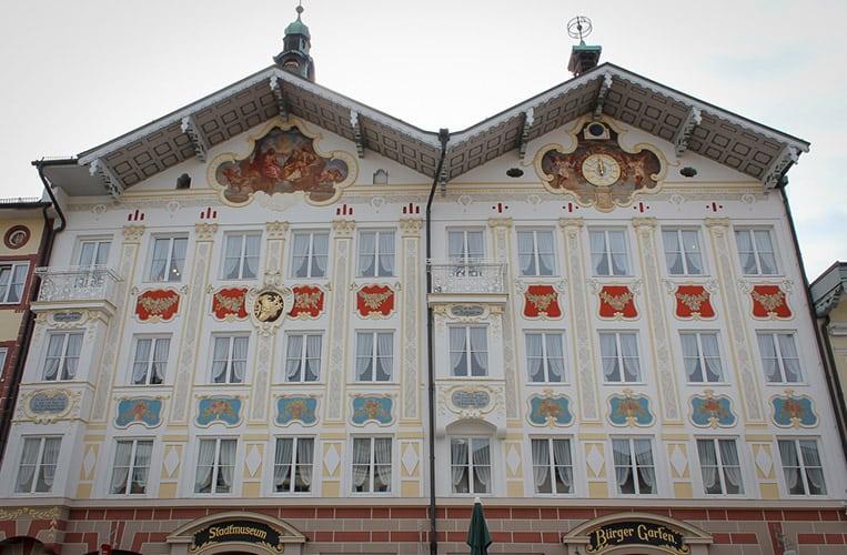 Das Rathaus in Bad Tölz