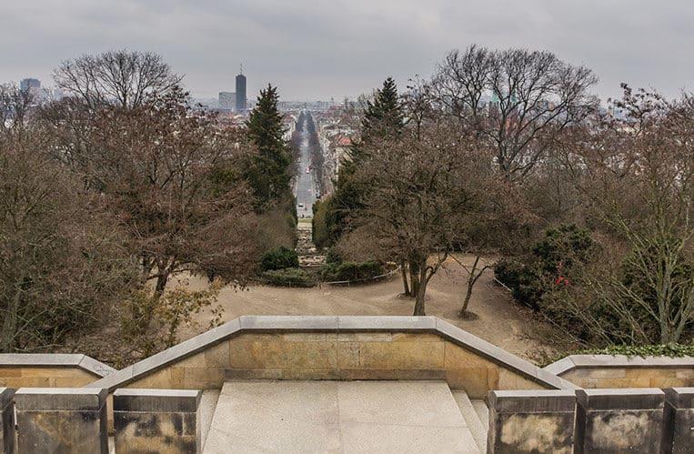 Ausblick vom Schinkelschen Nationaldenkmal