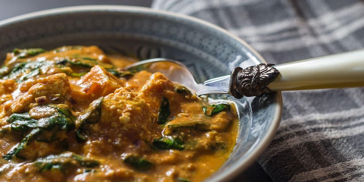 Palak Paneer Rezept | Indischer Frischkäse