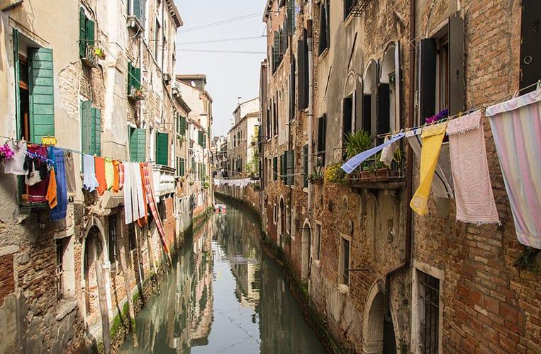 In Castello geht es auch heute noch typisch venezianisch zu.