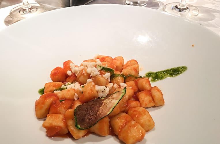 Italienische Spezialitäten im Hotel Costes