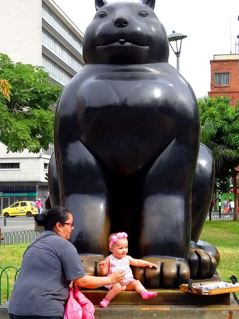 Plaza Botero in Medellín