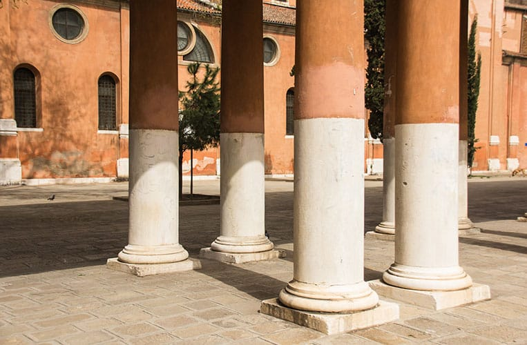Der Campo della Confraternità den Brunetti so häufig überquert.