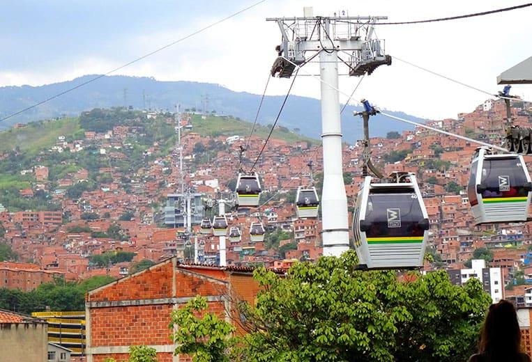 Metrcocable in Medellín