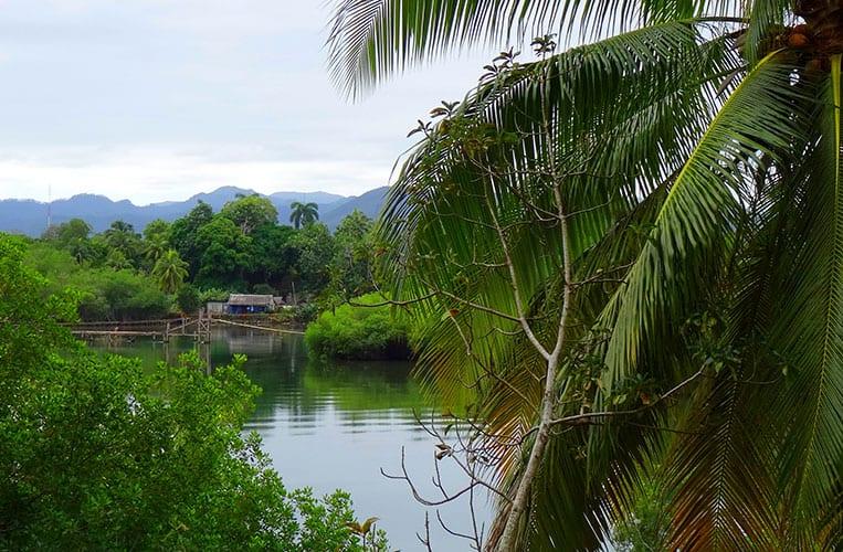 Besuch bei meinem Freunde Popi in Dorf Boca de Miel, Kuba