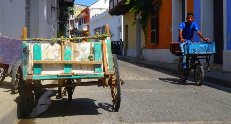 Cartagena de Indias, die Hauptstadt des Departements Bolívar und Juwel der kolumbianischen Städte and der Karibikküste.