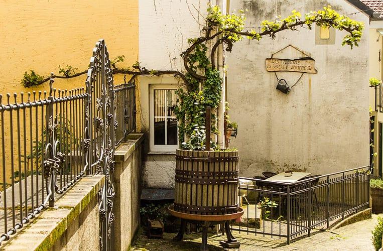 Destillerie Dolizy & Guillon in Ehnen an der luxemburgischen Mosel