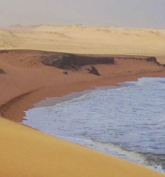 Die weite Wüste La Guajira in Kolumbien