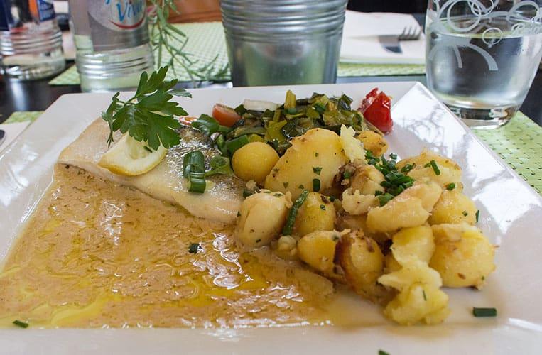 Regionale Speisen im Restaurant Kaempff-Kohler in Luxemburg Stadt