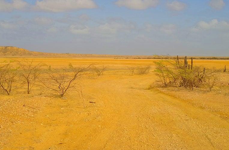 Die weite Wüste La Guajira