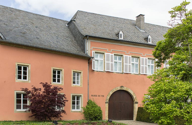 das Weinmuseum in Ehnen, Luxemburg