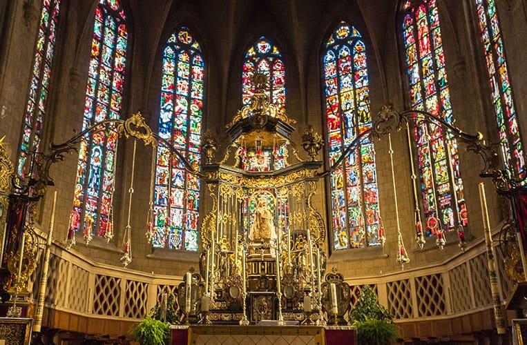 Die Cathédrale Notre-Dame de Luxembourg