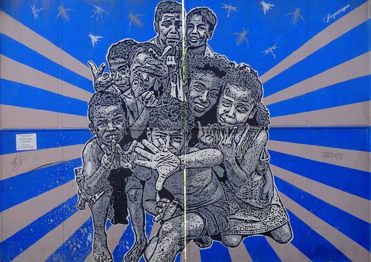 Streetart in Cartagena de Indias, Kolumbien