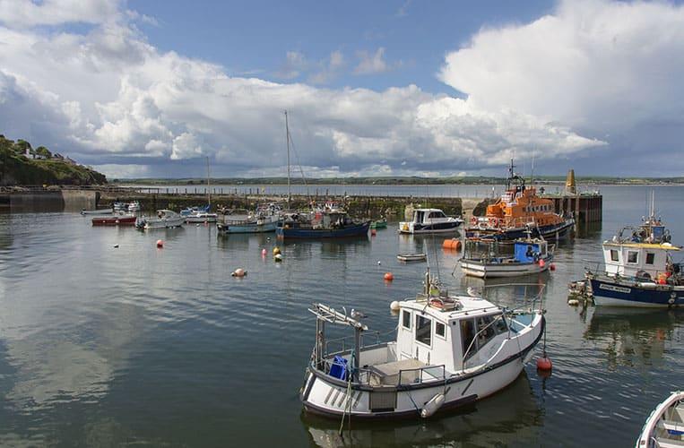 Der Hafen von Ballycotton