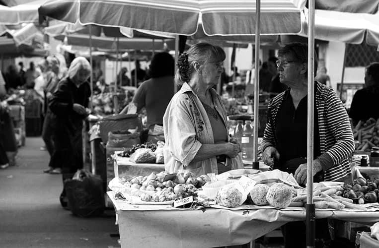 Markt in Zagreb