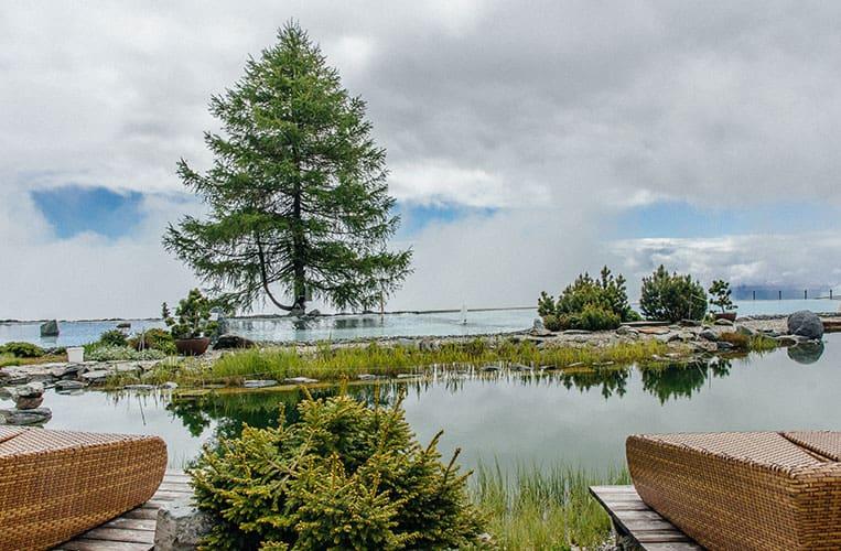 Das Panorama im Mountain Resort Feuerberg