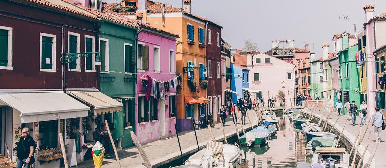 Rund um Venedig: Die Inseln Murano und Burano
