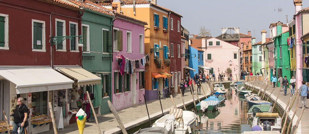 Rund um Venedig: Murano und Burano