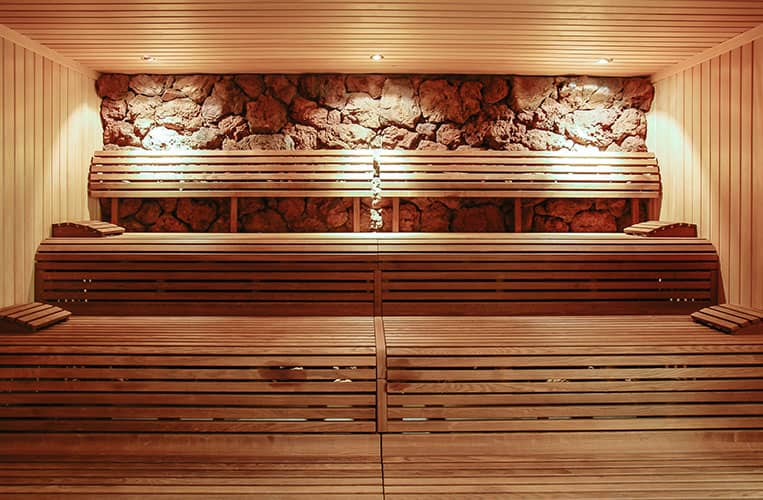 Sauna im Mountain Resort Feuerberg